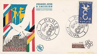 France 1958 Fdc Europa Yt 1174