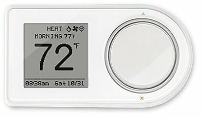 NEW Lux Products GEO-WH Wi-Fi 7-day Connected Thermostat, White