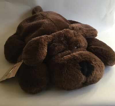 St Michaels M & S Puppy Doggy Pyjama Case Hot Water Bottle Case Cover Plush Toy