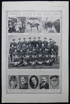 Royal Irish Fusiliers Regiment Officers Gallipoli First World War Ww1 1916