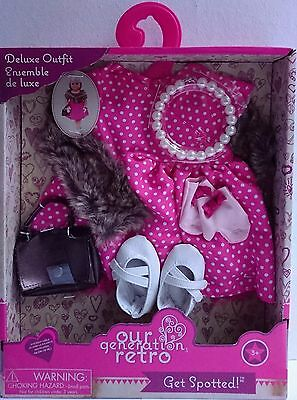 Our Generation Retro | Get Spotted | Deluxe Doll Outfit | 18 inch