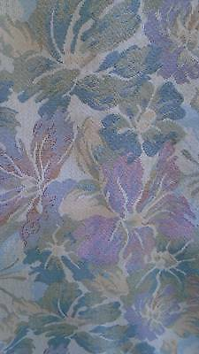 French Vintage Quality Tapestry Fabric  Pastel Shades Unused