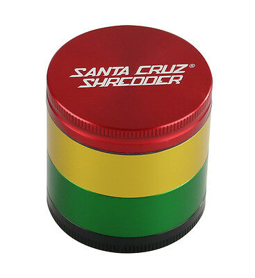 "2 1/8"" Medium 4pc Santa Cruz® Shredder - Rasta"