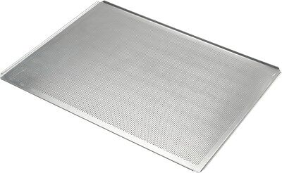Commercial Aluminium 4 Sided Peeled Perforated Baking Sheet 600 x 400 x 10 mm