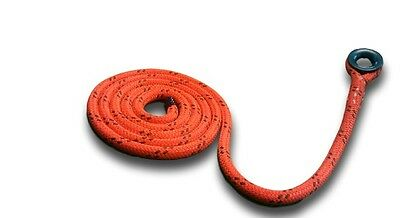 "Arborist Ring Sling for Rigging,Bull Rope Thimble Ring Sling 5/8"" Polydyne x 15'"
