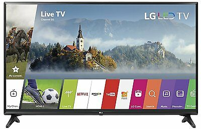 """LG 43"""" Smart LED TV with 1080p Resolution 2 HDMI/1 USB Ports & 60Hz Refresh Rate"""
