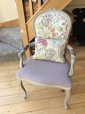 Beautiful French Louise Style Shabby Chic Chair