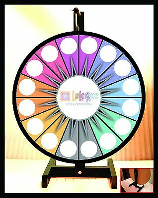 "Prize Wheel 18"" Spinning Tabletop Portable LuLaRoe Spinning Wheel"