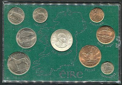 Ireland - Proof Uncirculated (Unc) 1966 Patrick Pearse Full Year Coin Set