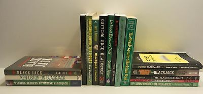LIBRARY OF BLACKJACK BOOKS -- 17 Different Titles -- BECOME AN EXPERT!