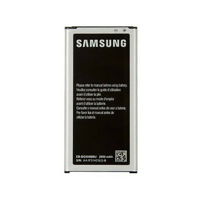 New Genuine OEM Samsung Galaxy S5 2800 mAh Replacement Battery EB-BG900BBU/BBZ
