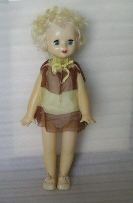 VERY BEAUTIFUL VINTAGE WALKING PLASTIC DOLL, RUSSIA/USSR, 1970s