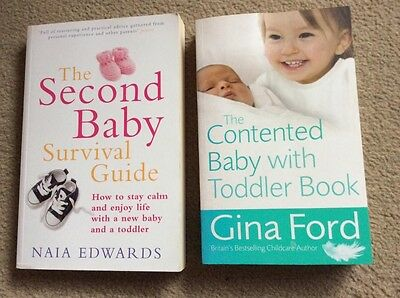 Second Baby Books (2 Book Bundle) Including Gina Ford
