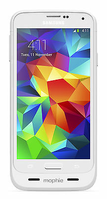 mophie Juice Pack Battery Case for Samsung Galaxy S5 - White