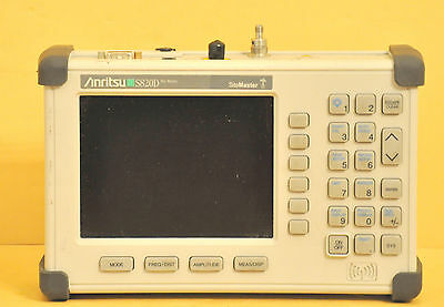 Anritsu S820D SiteMaster Broadband Cable & Antenna Analyzer Options 5 & 22 Used