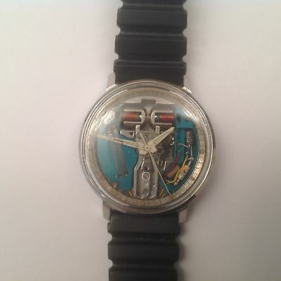 Bulova Accutron Spaceview Tuning Fork Watch M5