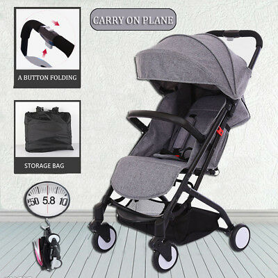 Babytime Compact Lightweight Baby Umbrella Stroller Pram Jogger Travel Carry-on