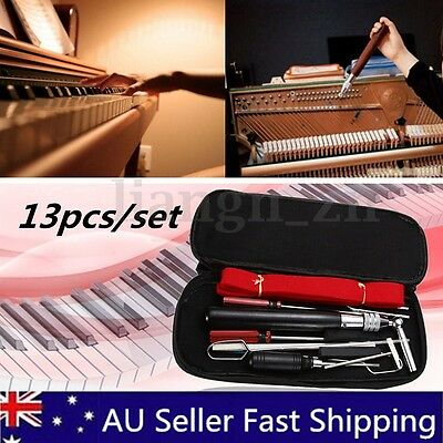 13pcs Piano Tuning Maintenance Kit Professional Screwdriver Wrench Part Tools