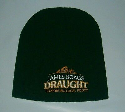 James Boags Draught Beer Beanie Support Local Footy for home bar pub collector