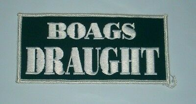 James Boags Bitter Beer Patch Embroidered brand new,home bar or collector