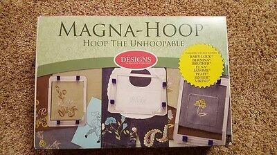 Magna Hoop for Embroidery NEW!