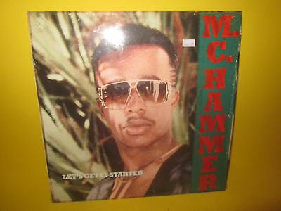 Mc Hammer Lets Get It Started Lp Original In Shrink Hip Hop Rap
