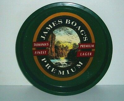 James Boags Premium Beer Full Size Metal Drinks Tray for home bar or collector