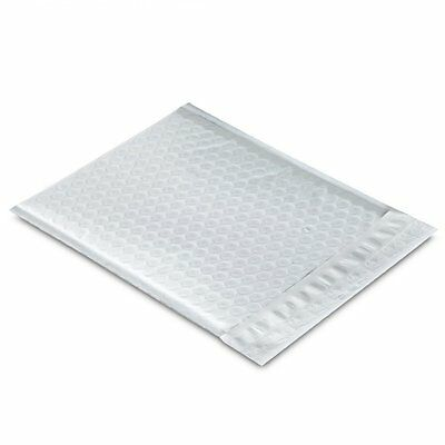 "250Pcs 6.5X10"" Poly Mailer padded Self Sealing Bubble Lined Envelope Bags White"