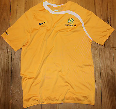 Australian Socceroos Player Issue Soccer Football Training Shirt Jersey Size XL