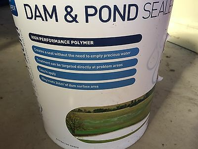 Aqua-Tech Dam And Pond Sealer. 20 Kg
