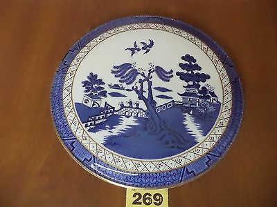 Royal Doulton BOOTHS REAL OLD WILLOW - Majestic Collection - Gateaux Cake Plate