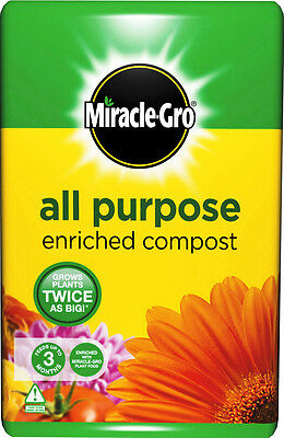 Miracle Gro All Purpose Enriched Compost 50 Litre BEST PRICE Ebay Free Delivery
