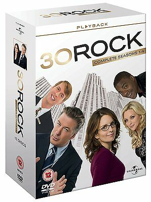 30 ROCK the complete series 1, 2 3 & 4 box set. New sealed DVD.