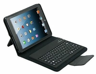 Custodia Universale Cover + Tastiera In Pelle Bluetooth 3.0 Per Apple Ipad 2 3 4