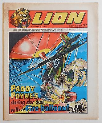 LION Comic - 29th March 1969