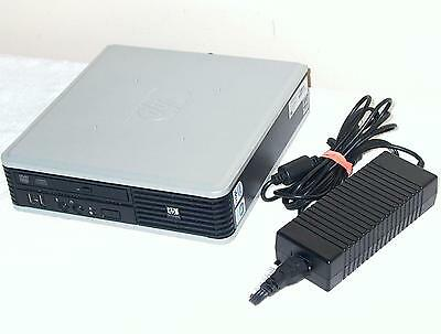 HP Desktop PC Computer Intel Core 2 4GB 160GB Windows Small Mini Ultra Slim SFF