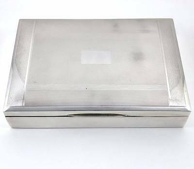SHEFFIELD STERLING SILVER BOX 506 Grams, English markings, Exquisite
