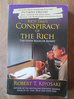 Rich Dad's Conspiracy of the Rich: The 8 Rules Robert Kiyosaki 9780446559805