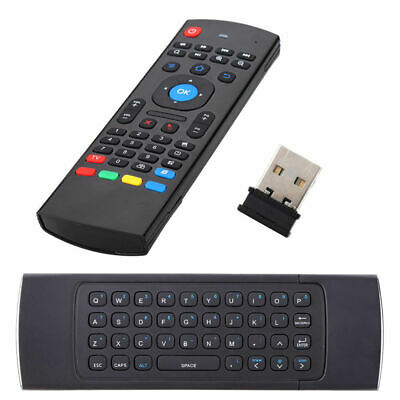 Telecomando Con Tastiera Wireless Air Mouse Movimento Android Box Pc Dongle Usb