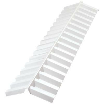 Suntuf 4-ft White Opal Ridge Cap Great Roofing Building Material Gutter Acessory