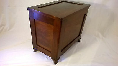 Antique Chest Vintage Box Trunk Coffee Table Side Table Art Deco Art nouveau