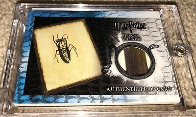 Harry Potter Artbox Heroes & Villains Framed Picture Burrow Variant P5 Prop Card