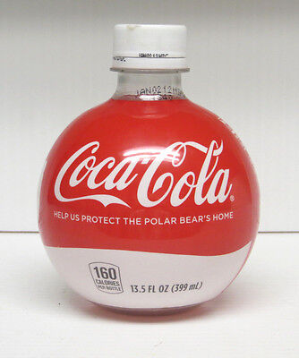 Special Ball Shaped Coca-Cola (Help us Protect the Polar Bears) 13.5 oz. bottle