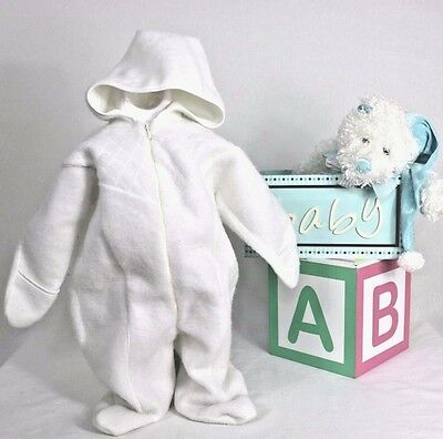 Baby Infant  Winter Romper Jumpsuit Bodysuit Outfit Hooded Clothes size 3/6