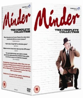 MINDER The Complete Collection series 1 - 10.  33 Disc box set. New sealed DVD.