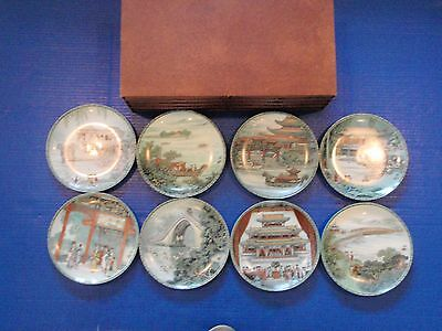 Imperial Jingdezhen Summer Palace - Set of 8 - EUC