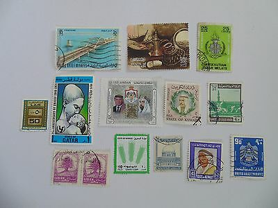 L1534 - Collection Of Mixed Middle East Stamps