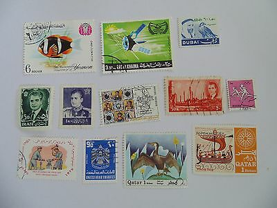L1536 - Collection Of Mixed Middle East Stamps