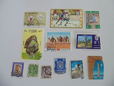 L1537 - Collection Of Mixed Middle East Stamps