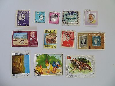 L1539 - Collection Of Mixed Middle East Stamps